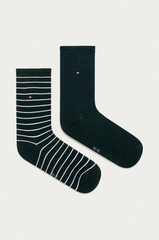 námořnická modř Tommy Hilfiger - Ponožky (2-pack) Dámský