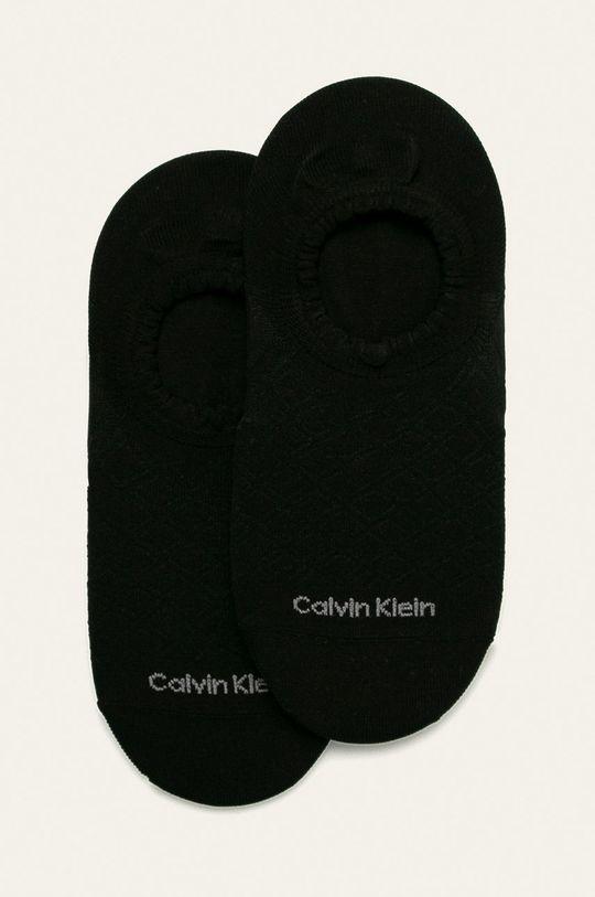 černá Calvin Klein - Kotníkové ponožky (2-pack) Dámský