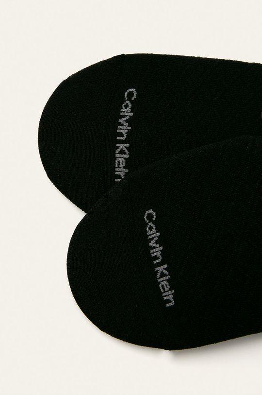 Calvin Klein - Kotníkové ponožky (2-pack) černá