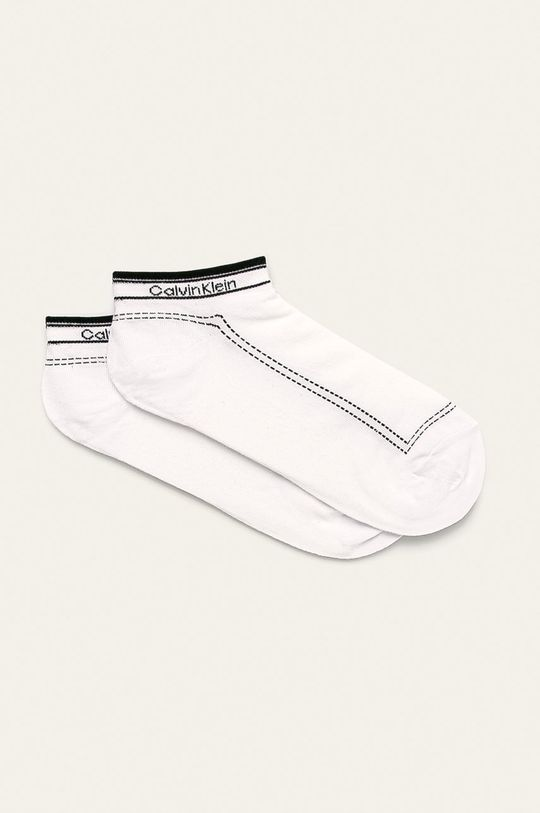 biela Calvin Klein - Ponožky (2-pak) Dámsky