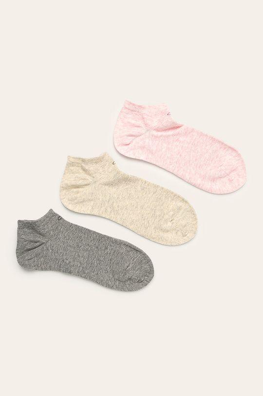 vícebarevná Calvin Klein - Ponožky (3-pack) Dámský