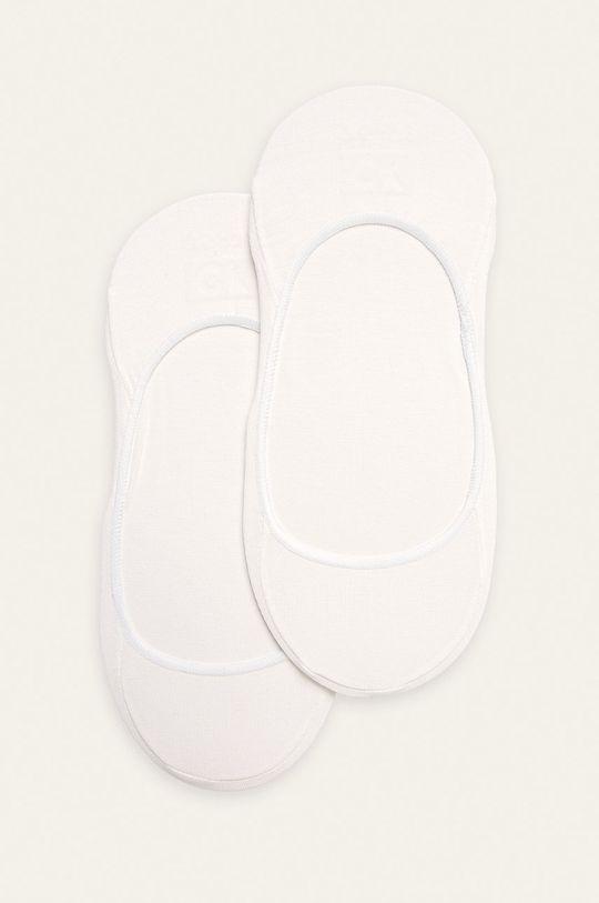 biały Calvin Klein - Skarpetki (2-pack) Damski