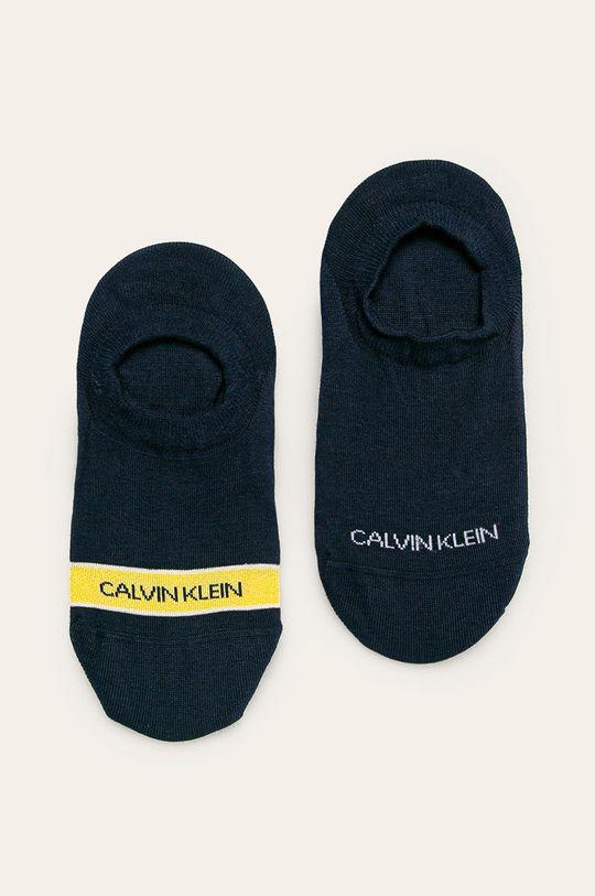 námořnická modř Calvin Klein - Kotníkové ponožky (2-pack) Dámský