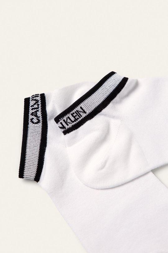 Calvin Klein - Ponožky (2-pak) biela