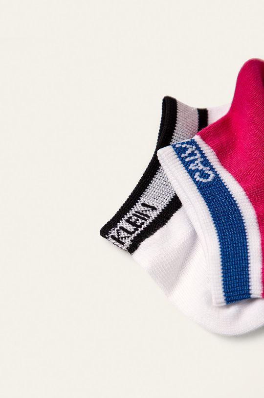 Calvin Klein - Ponožky (2-pack) vícebarevná