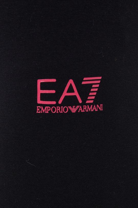 czarny EA7 Emporio Armani - Legginsy