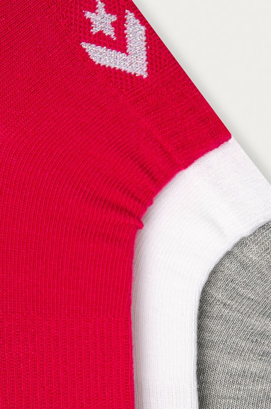 Converse - Ponožky (3-pack) vícebarevná