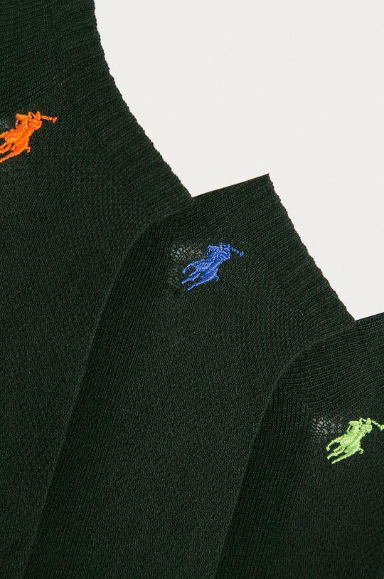 Polo Ralph Lauren - Stopki (6-pack) czarny