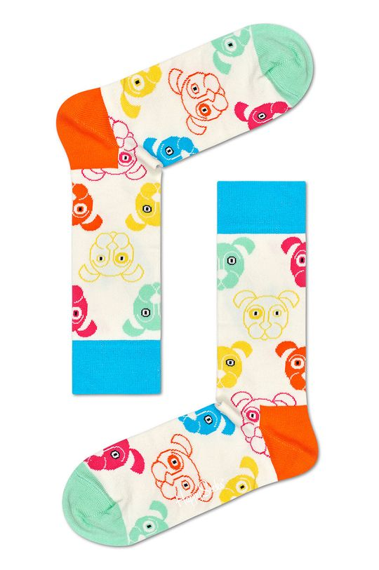 multicolor Happy Socks - Skarpetki Mixed Dog Gift Set (3-pack)