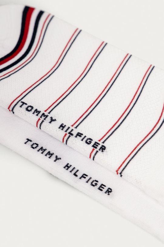 Tommy Hilfiger - Sosete (2-pack) alb