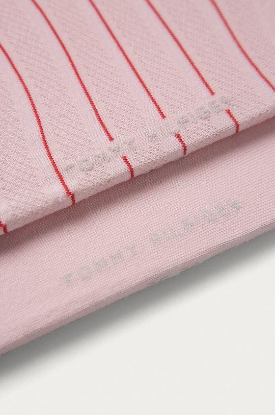 Tommy Hilfiger - Sosete (2-pack) roz