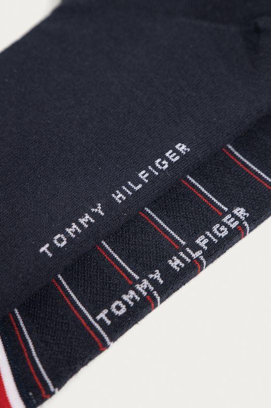 Tommy Hilfiger - Sosete (2-pack) bleumarin
