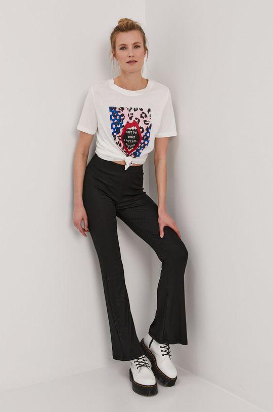 Pieces - Spodnie czarny