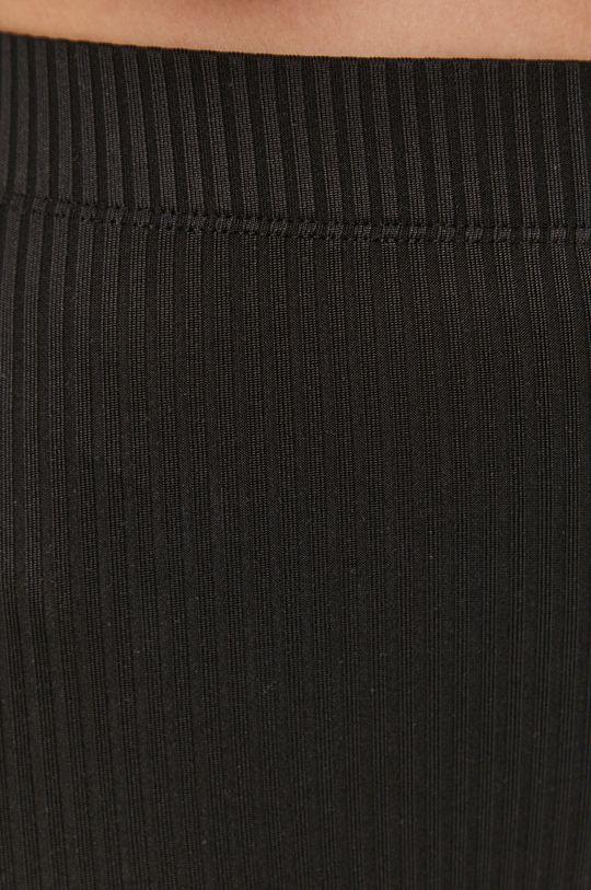 czarny Pieces - Spodnie