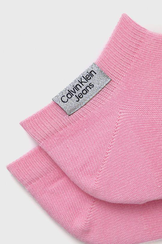 Calvin Klein Jeans - Sosete (2-pack) roz