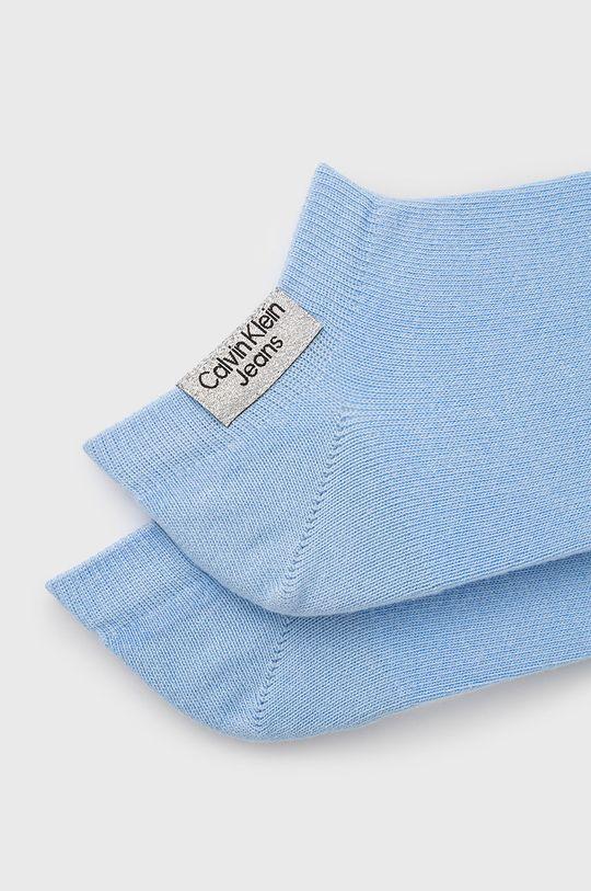 Calvin Klein Jeans - Sosete (2-pack) albastru deschis