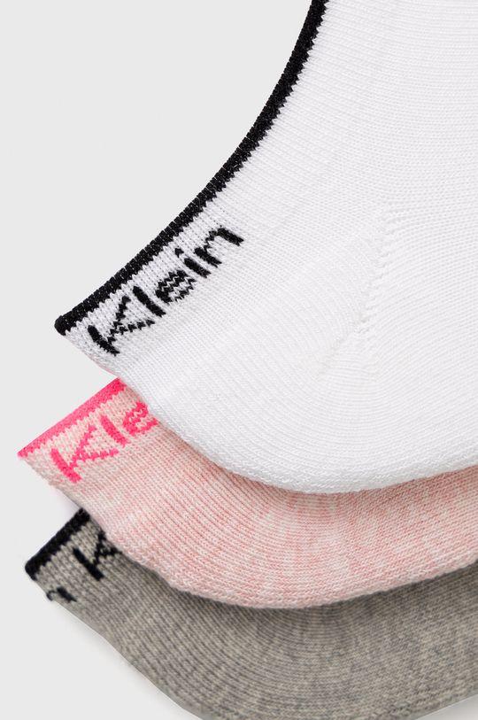 Calvin Klein - Sosete (3-pack) roz