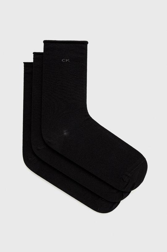 czarny Calvin Klein - Skarpetki (3-pack) Damski