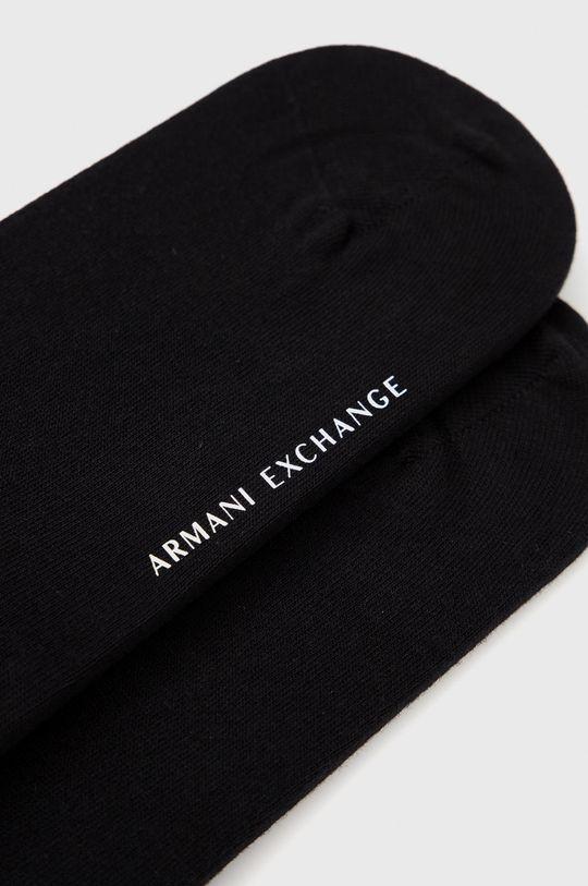 Armani Exchange - Ponožky černá