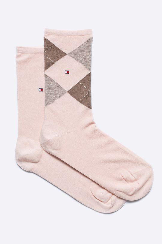 różowy Tommy Hilfiger - Skarpetki (2-pack) Damski