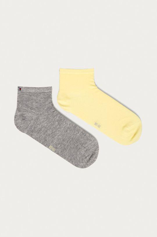 žltá Tommy Hilfiger - Ponožky (2-pak) Dámsky