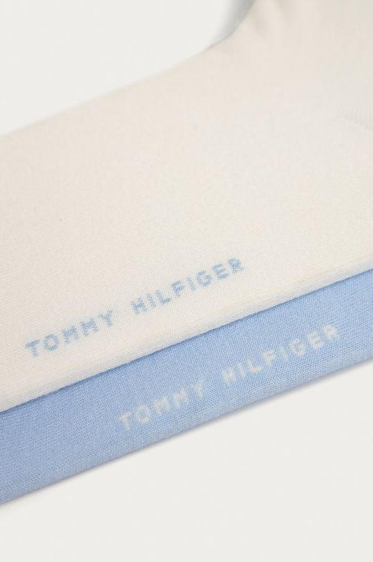 Tommy Hilfiger - Skarpetki (2-pack) jasny niebieski