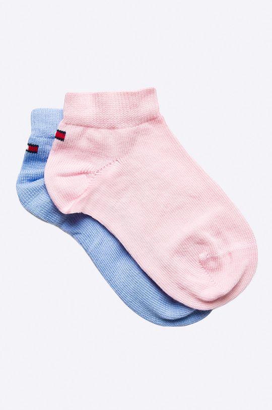 różowy Tommy Hilfiger - Skarpetki dziecięce (2-pack) Dziewczęcy