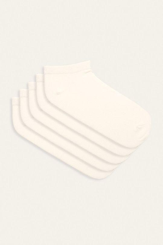 biela Name it - Detské ponožky (5-pack) Dievčenský