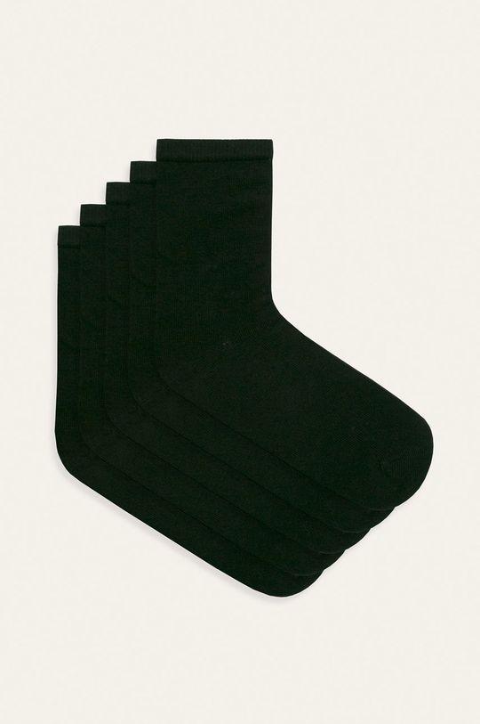 čierna Name it - Detské ponožky (5-pack) Dievčenský