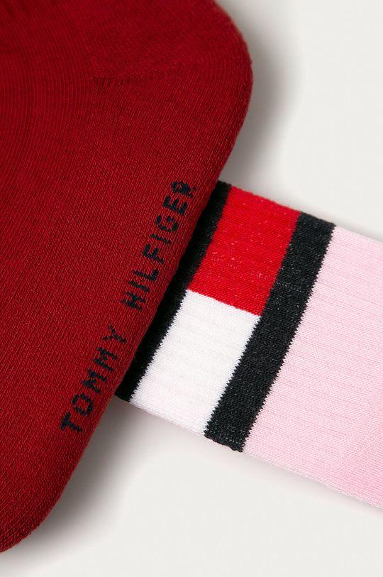 Tommy Hilfiger - Sosete (2-pack) rosu