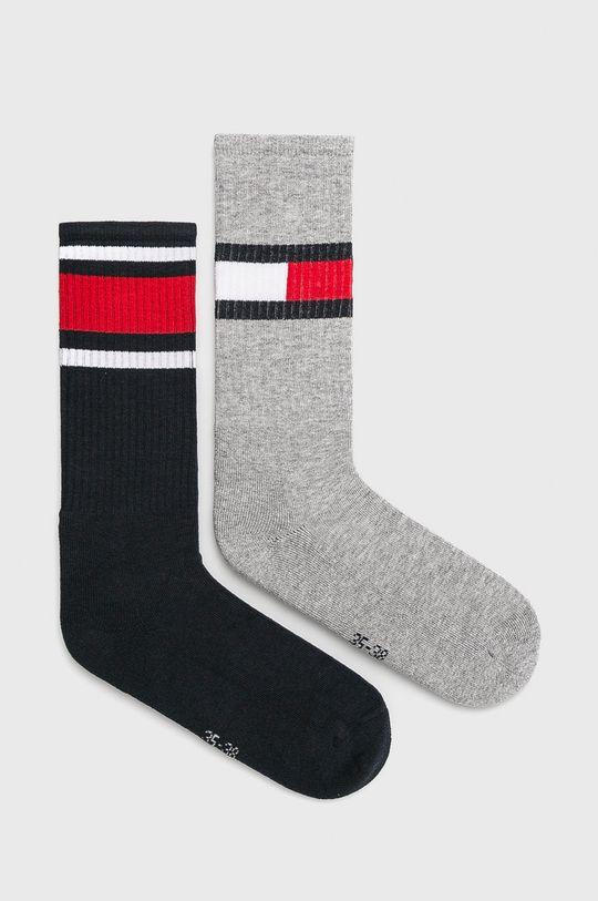 šedá Tommy Hilfiger - Ponožky (2-pack) Dětský
