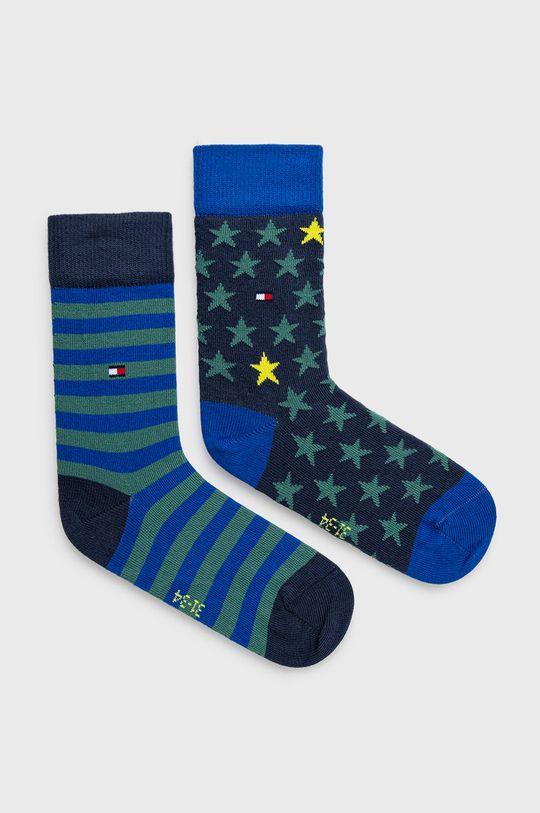 zelená Tommy Hilfiger - Detské ponožky (2-pak) Detský