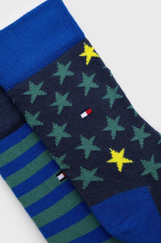 Tommy Hilfiger - Detské ponožky (2-pak) zelená