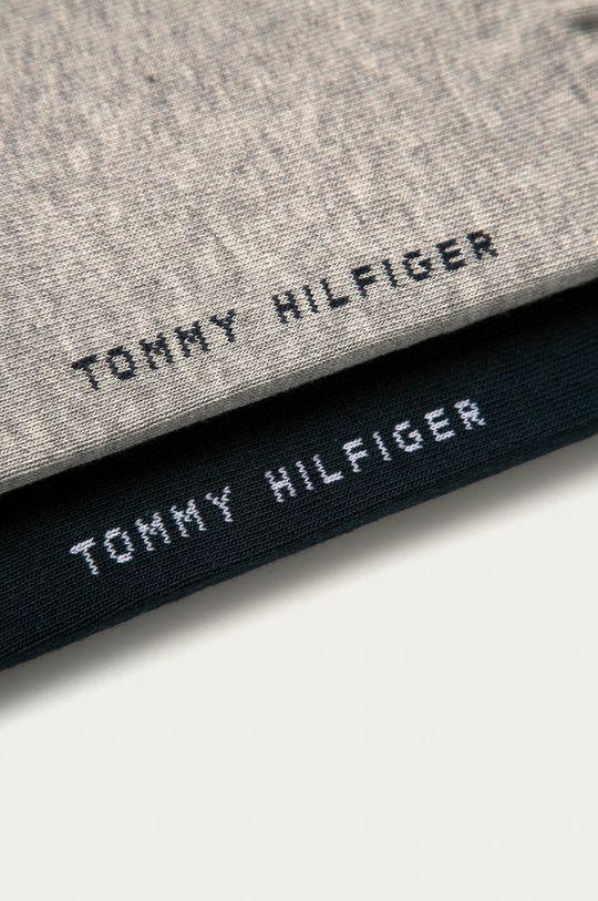 Tommy Hilfiger - Ponožky (2-pak) svetlosivá