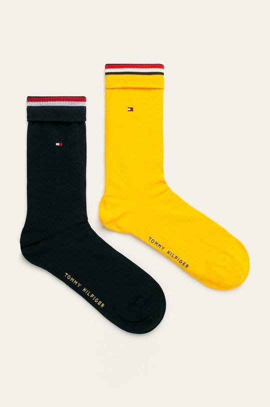 żółty Tommy Hilfiger - Skarpety (2-pack) Męski