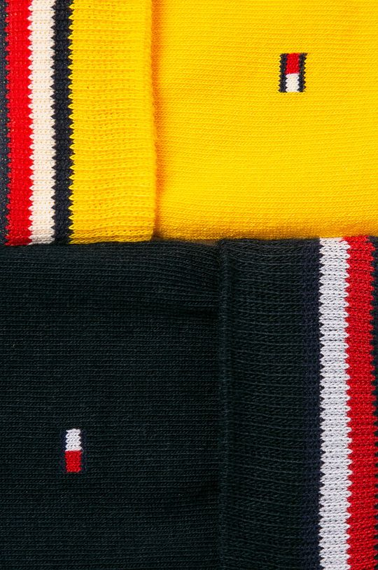 Tommy Hilfiger - Skarpety (2-pack) żółty