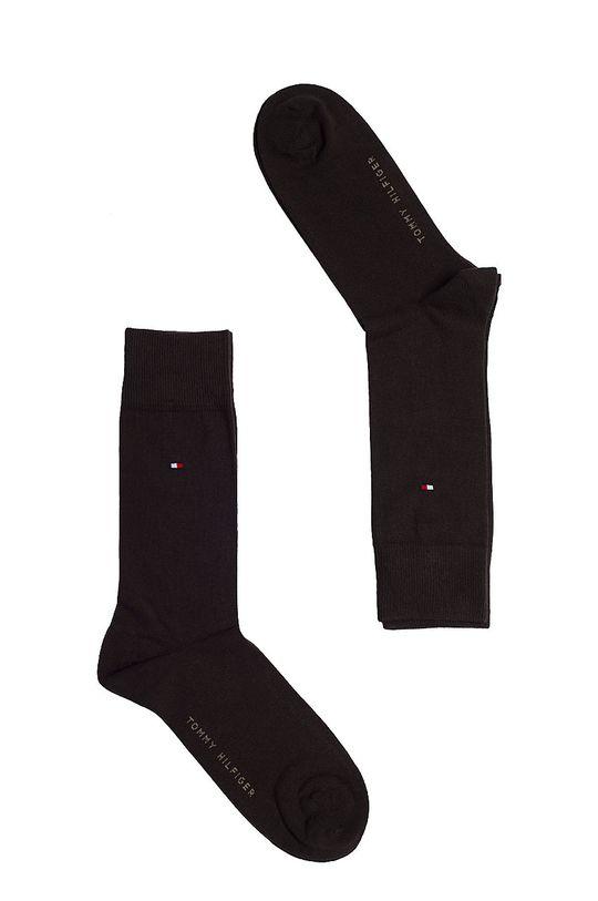 hnedá Tommy Hilfiger - Ponožky (2-pak) Pánsky