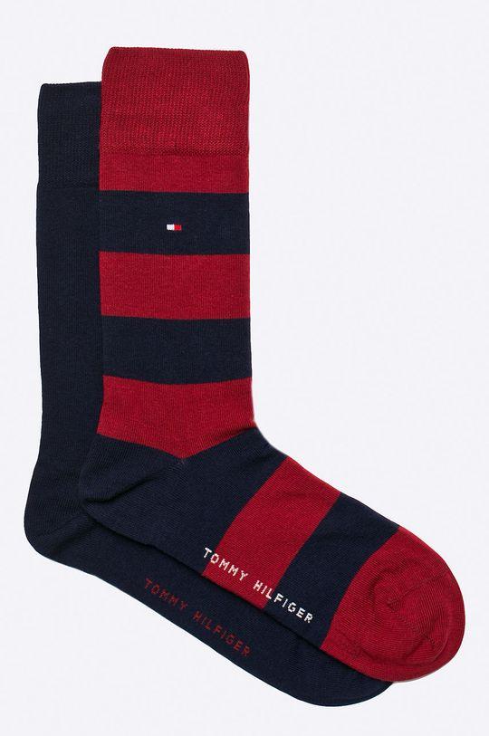 czerwony Tommy Hilfiger - Skarpety Rugby (2-pack) Męski