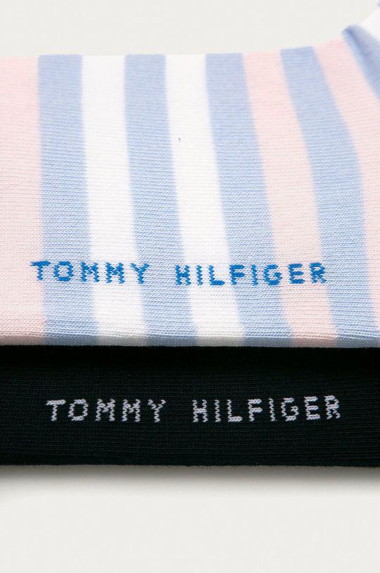 Tommy Hilfiger - Kotníkové ponožky (2-pack) světle modrá