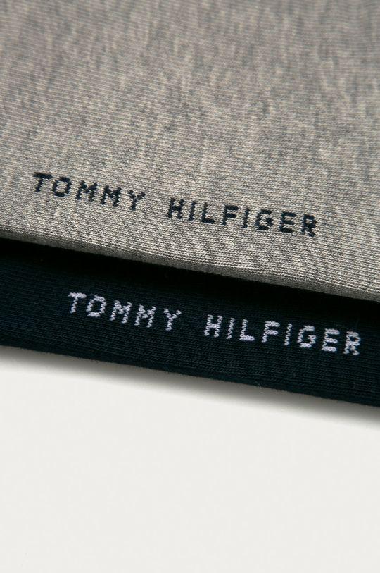 Tommy Hilfiger - Pánské ponožky Quarter (2-pack) světle šedá