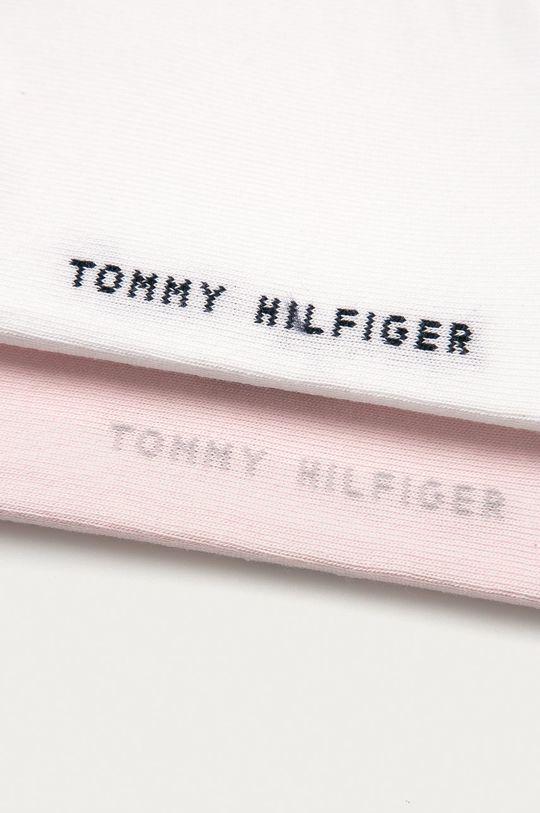 Tommy Hilfiger - Pánské ponožky Quarter (2-pack) růžová