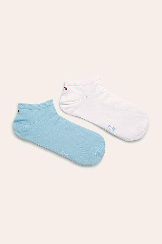 alb Tommy Hilfiger - Șosete scurte bărbați Sneaker (2-pak) De bărbați
