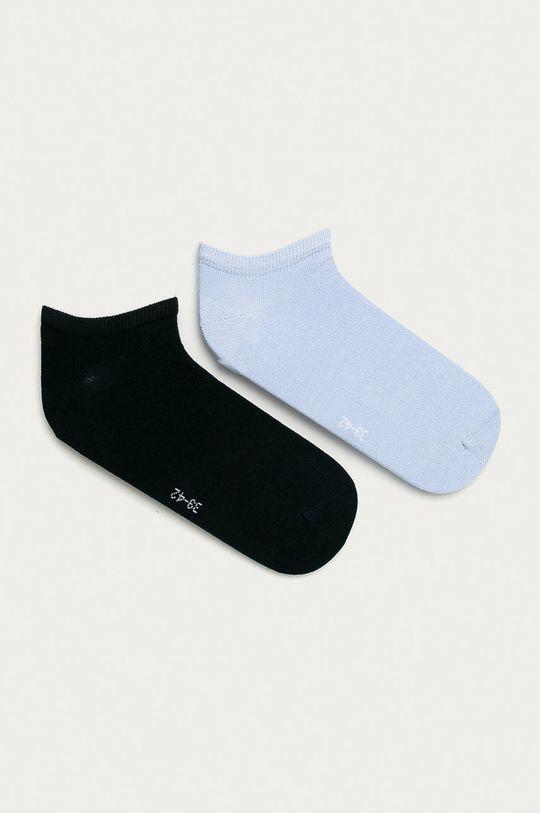 svetlomodrá Tommy Hilfiger - Členkové ponožky (2-pak) Pánsky