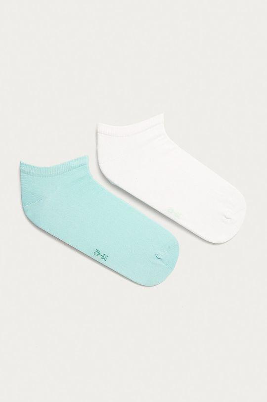 mätová Tommy Hilfiger - Členkové ponožky (2-pak) Pánsky