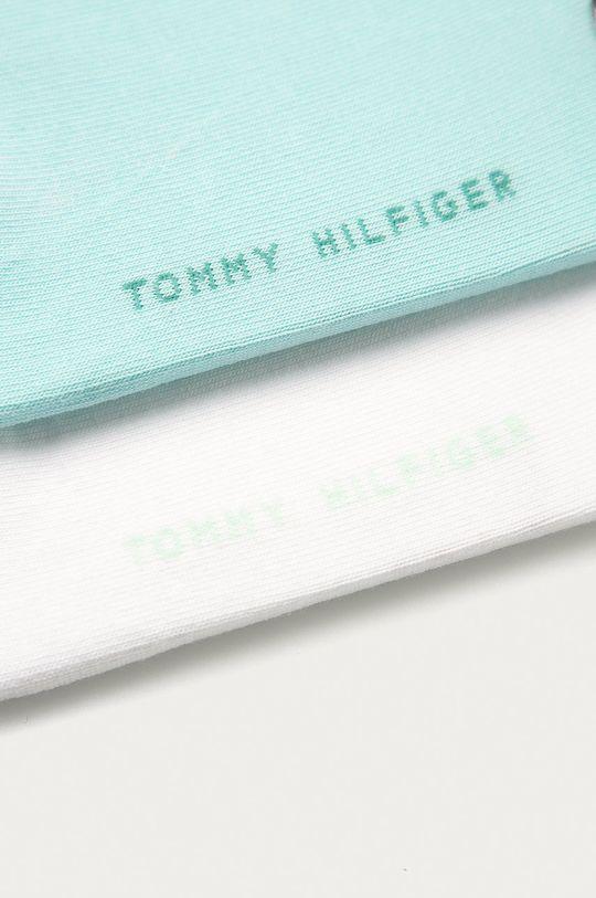 Tommy Hilfiger - Členkové ponožky (2-pak) mätová