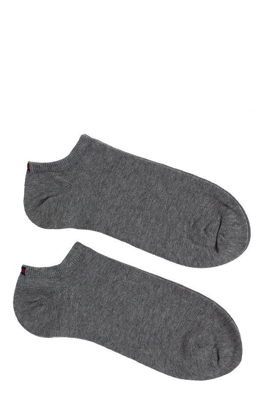šedá Tommy Hilfiger - Pánské ponožky Sneaker (2-pack) Pánský