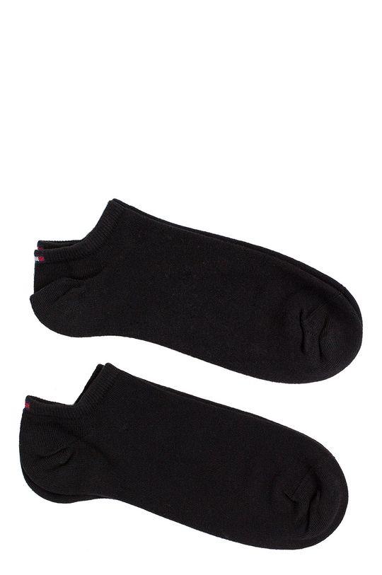 černá Tommy Hilfiger - Pánské ponožky Sneaker (2-pack) Pánský