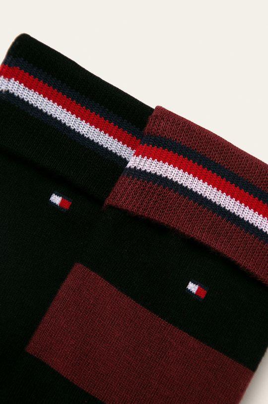Tommy Hilfiger - Ponožky (2-pack) kaštanová