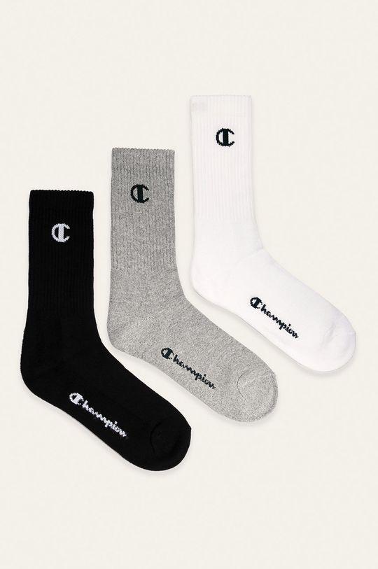 černá Champion - Ponožky (3-pack) Pánský