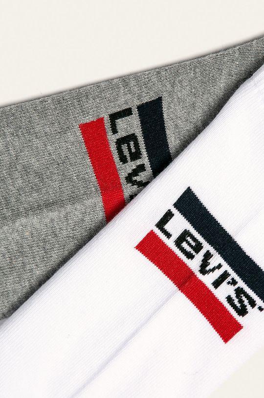 Levi's - Ponožky (2 pack) bílá